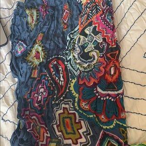 Vera Bradley scarf Painted Medallions
